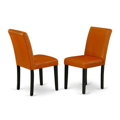 Buy Orange Leather Kitchen Amp Dining Room Chairs Online At