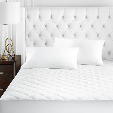 Copper Grove Attendorn White Mattress Pad