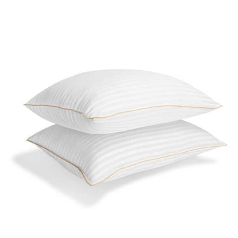 Gracewood Hollow Vegad Striped Gel Fiber Pillow (Set of 2)