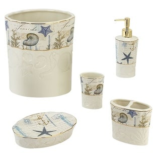 Link to Antigua 5 Piece Bath Accessory Set - Multicolor Similar Items in Toothbrush Holders
