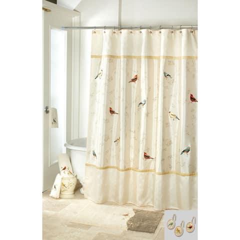 Gilded Birds 14 Piece Bath Accessory Set