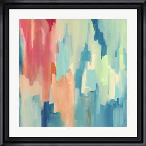 Jennifer McCully 'Color Theory Abstract' Framed Art