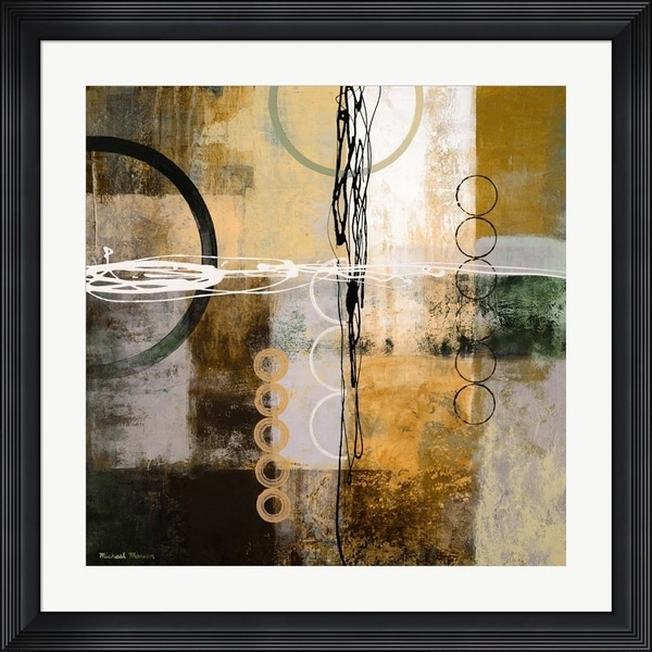 Michael Marcon 'Intersect II' Framed Art. Opens flyout.