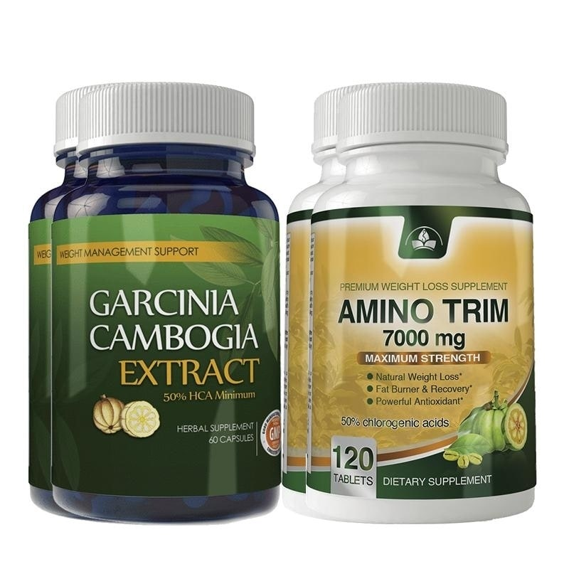 Shop Garcinia Cambogia Extract And Amino Trim Combo Pack