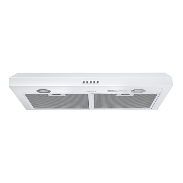 Ancona Slim S3DW 30 in. Stainless Steel Under Cabinet Range Hood in White. Opens flyout.