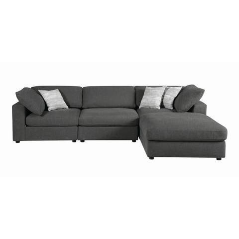 Strick & Bolton Sasha Modular Fabric Sectional