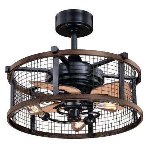 Carbon Loft Montrese 21-inch Ceiling Fan - 21-in W x 17-in H x 21-in D