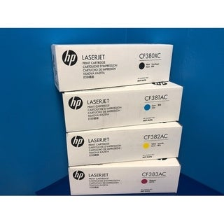 Link to HP 312X/312A Highy Yield Black Standard Cyan/Yellow/Magenta Toner Cartridges, 4-PK, CF380XC, CF381AC, CF382AC, CF383AC Similar Items in Printer Accessories