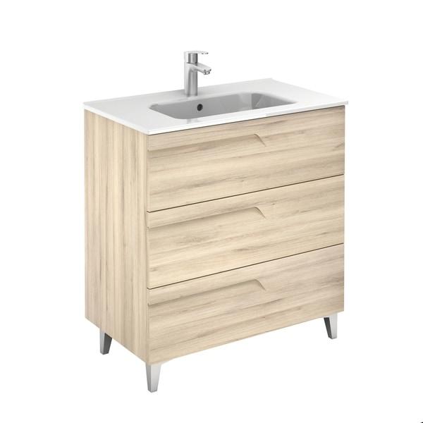 Eviva Vitta 32″ Beige Modern Vanity