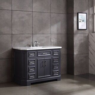 "Eviva Glory 42"" Dark Grey Bathroom Vanity"