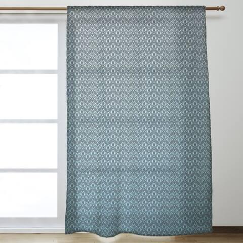 Classic Art Deco Sheer Curtains - 53 x 84