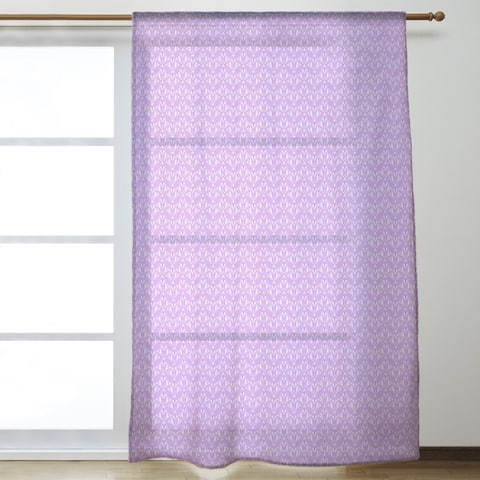 Alternate Art Deco Sheer Curtains - 53 x 84 - 53 x 84