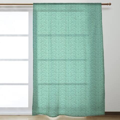 Third Eye Pattern Sheer Curtains - 53 x 84 - 53 x 84