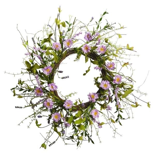 "22"" Lavender Wreath"