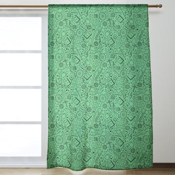 Shop Classic Rpg Pattern Room Darkening Curtains 53 X 84