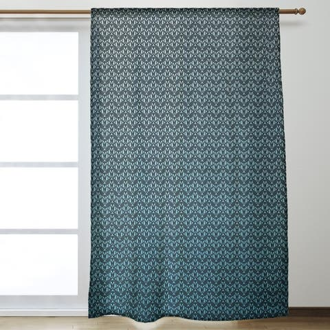 Classic Art Deco Room Darkening Curtains - 53 x 84
