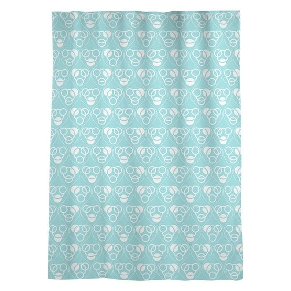 Classic Circles Waves Sheer Curtains 53 X 84 53 X 84 On Sale Overstock 28383188