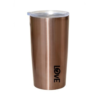 Link to Love Insulated Stainless-Steel 20 oz Travel Mug Similar Items in Glasses & Barware