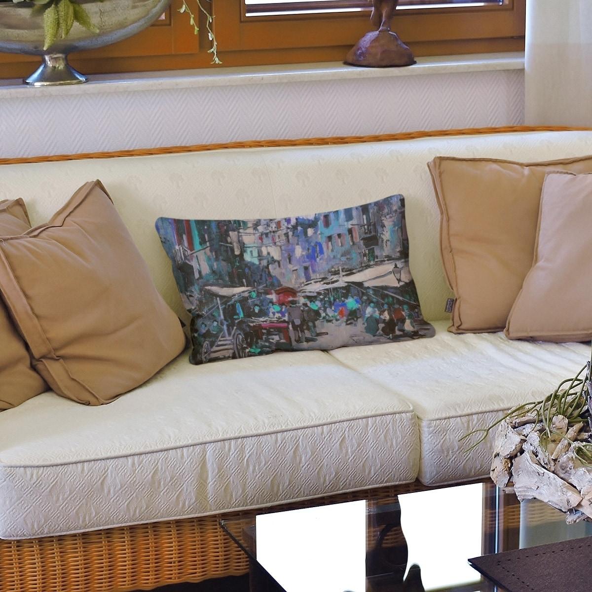 Market In Naples Lumbar Pillow Overstock 28384678