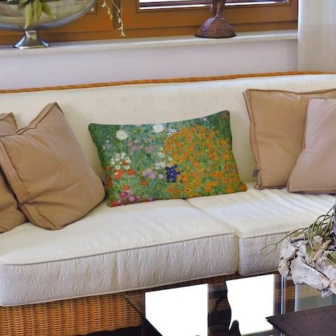 Blumengarten Lumbar Pillow