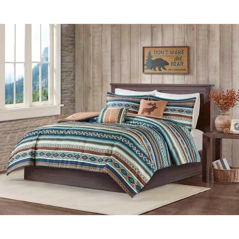 Carbon Loft 5-piece Luxury Bohemian Comforter Set