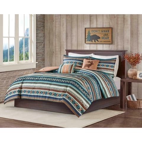 Carbon Loft 5-piece Luxury Bohemian Comforter Set