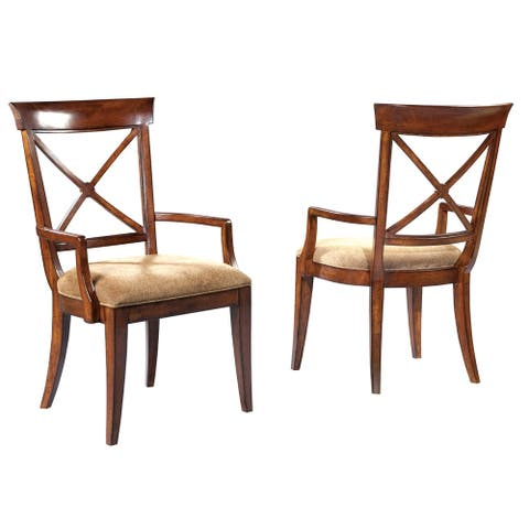 Solid Wood Arm Dining Chair - European Legacy