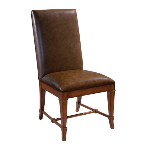 Solid Wood Upholstered Side Dining Chair - European Legacy