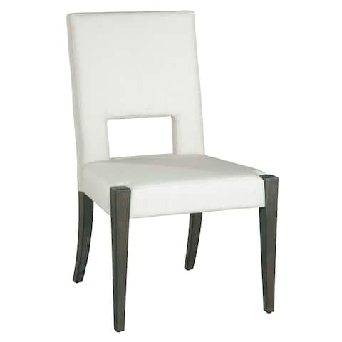 Solid Wood Upholstered Side Dining Chair - Edgewater