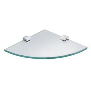 Eviva Rim Tempered Glass Corner Shelf