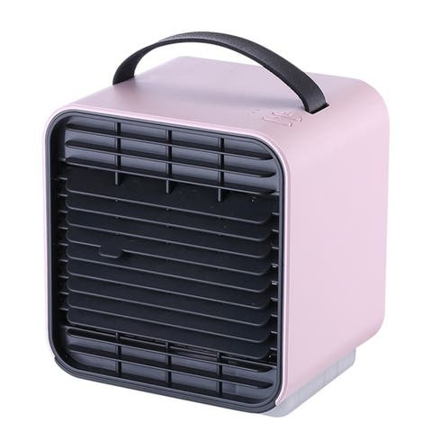 Three Color Mini Portable Air Conditioner Cooling For Bedroom Cooler Fan Cooling Fan for Room