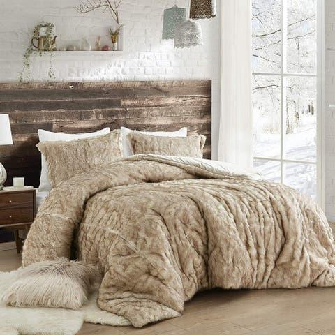 Coma Inducer Oversized Comforter - Arctic Bear - Tundra Brown