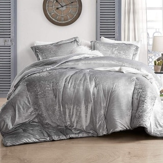 Link to Coma Inducer Oversized Comforter - Velvet Crush - Champagne Alloy Similar Items in Comforter Sets