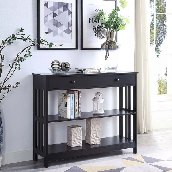 Porch & Den Miro Mission 1-drawer Console Table. Opens flyout.