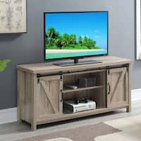 The Gray Barn Blake Barn Door TV Stand
