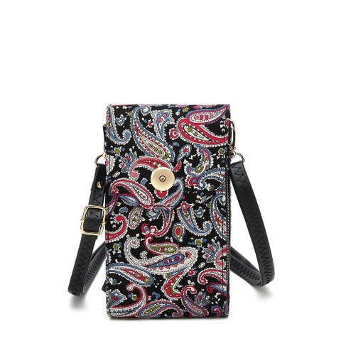 MKF Collection Noni Phone Crossbody Bag by Mia K.