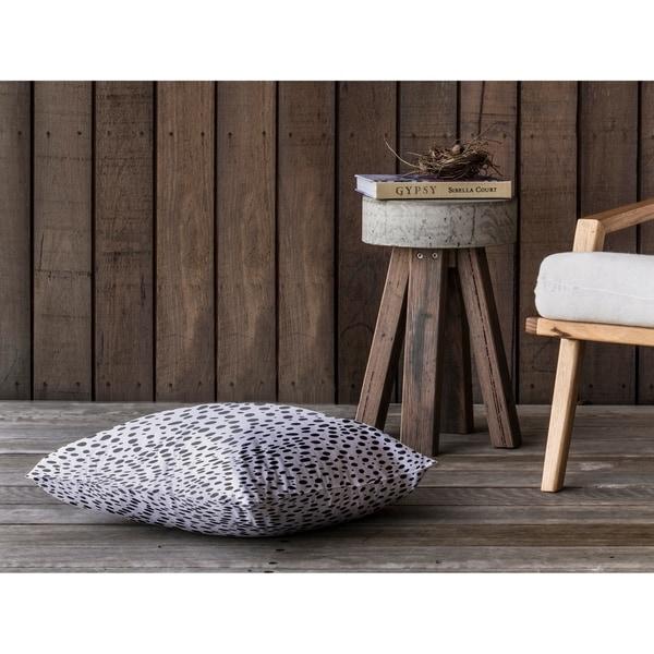 CHEETAH BLACK SPOT Floor Pillow By Kavka Designs