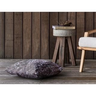VIPER GREY Floor Pillow By Kavka Designs