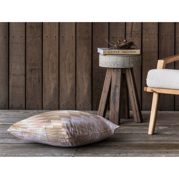 SAN PEDRO BEIGE Floor Pillow By Kavka Designs