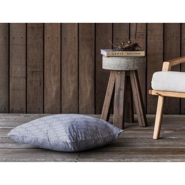 STARS STEEL Floor Pillow By Kavka Designs
