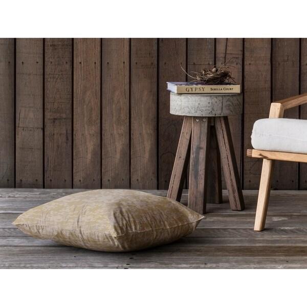 WAT GOLD Floor Pillow By Kavka Designs