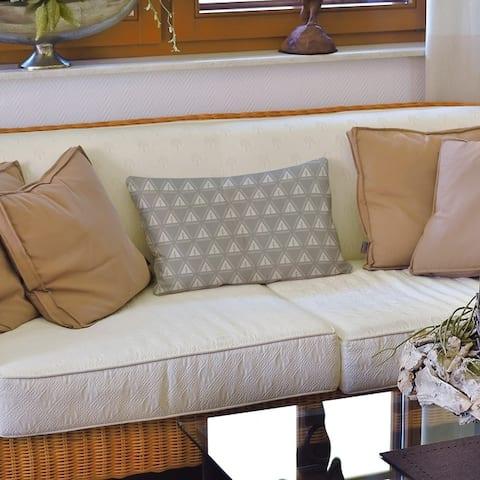 Classic Minimalist Tree Pattern Lumbar Pillow