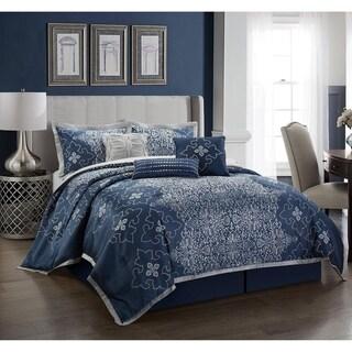 Grand Avenue Kalina-7 Piece Comforter Set