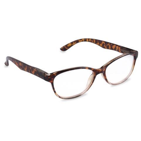 DII Women's Tortoise Reading Glasses