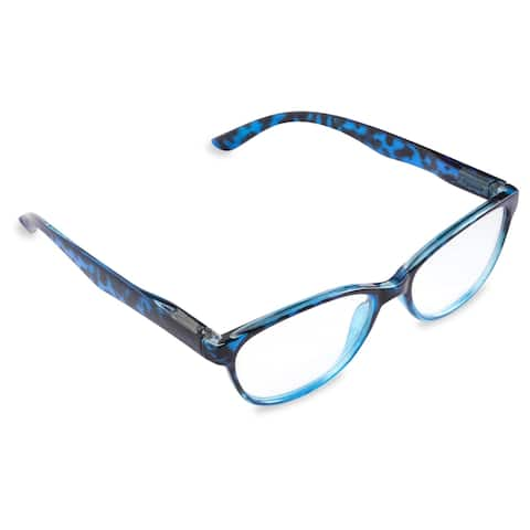 DII Women's Tortoise Reading Glasses