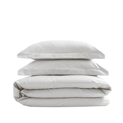 600 Silky Soft Cotton Stripe Duvets