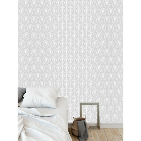 ART NOUVEAU GREY Wallpaper By Becky Bailey - 24X48
