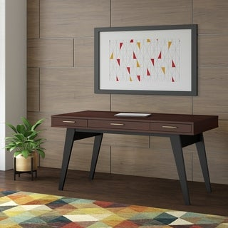 Centura 60W x 30D Writing Desk with Drawers from Office by kathy ireland®