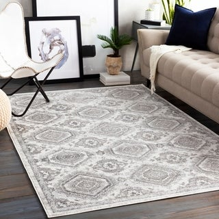 Porch & Den Lizzie Distressed Transitional Area Rug