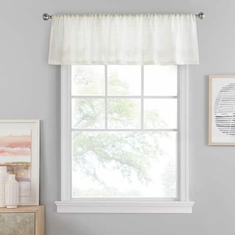 Porch & Den Templar Solid Color Window Valance
